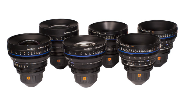 Zeiss Compact Prime CP.2 Super Speed Lenses